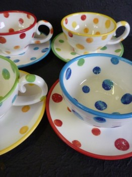 Dotty Pottery by Renate Galetzka