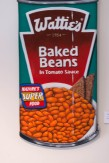 """Baked Beans"" Acrylic on board $500"
