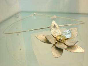 Flower petals pendant