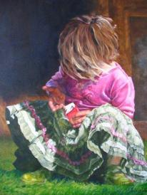 """""""Saving the best 'til last"""" Limited edition Giclee 2/25 $450"""