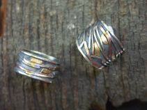 Braided River rings
