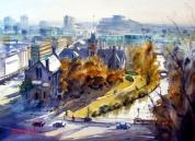 """Canterbury Council Buildings"" by Jacky Pearson"