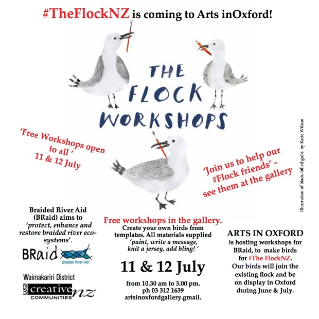 Flock Workshops July square web