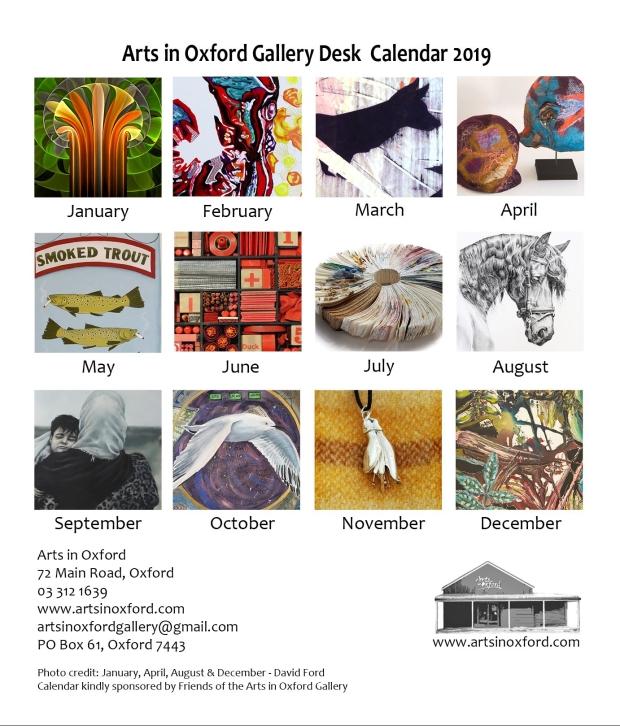 2019 Calendar back web